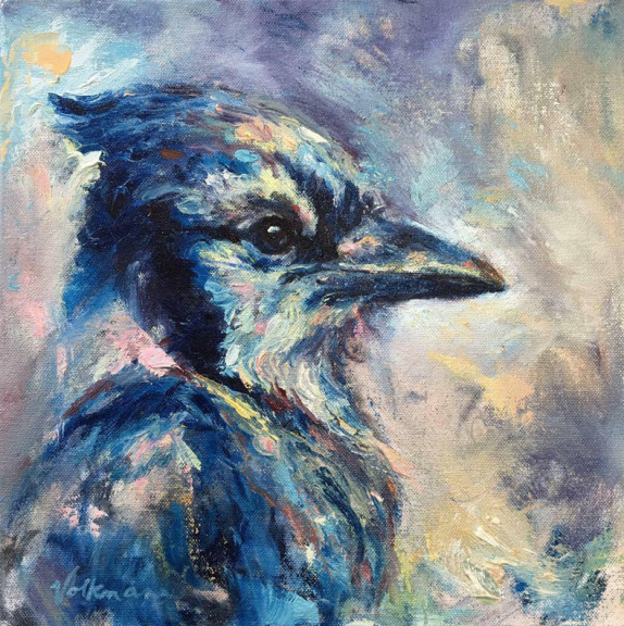 Blue Jay, Sold, Private Collection, MA