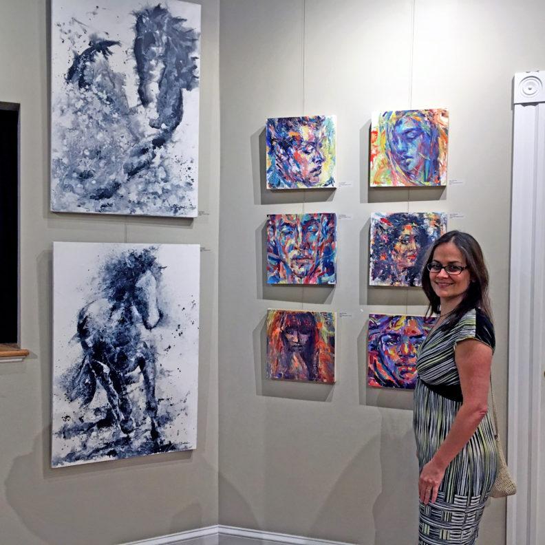 Judy Volkmann, True Grit Art Gallery, Middleboro, MA
