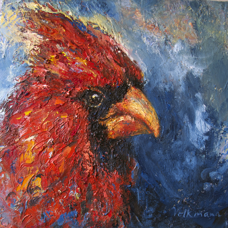 Cardinal II, Sold, Private Collection, RI