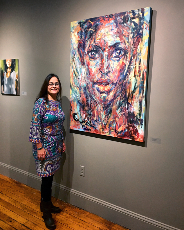 "Judy Volkmann, ""Echoes of Humanity"" on view at ArtProv Gallery, Providence, RI"