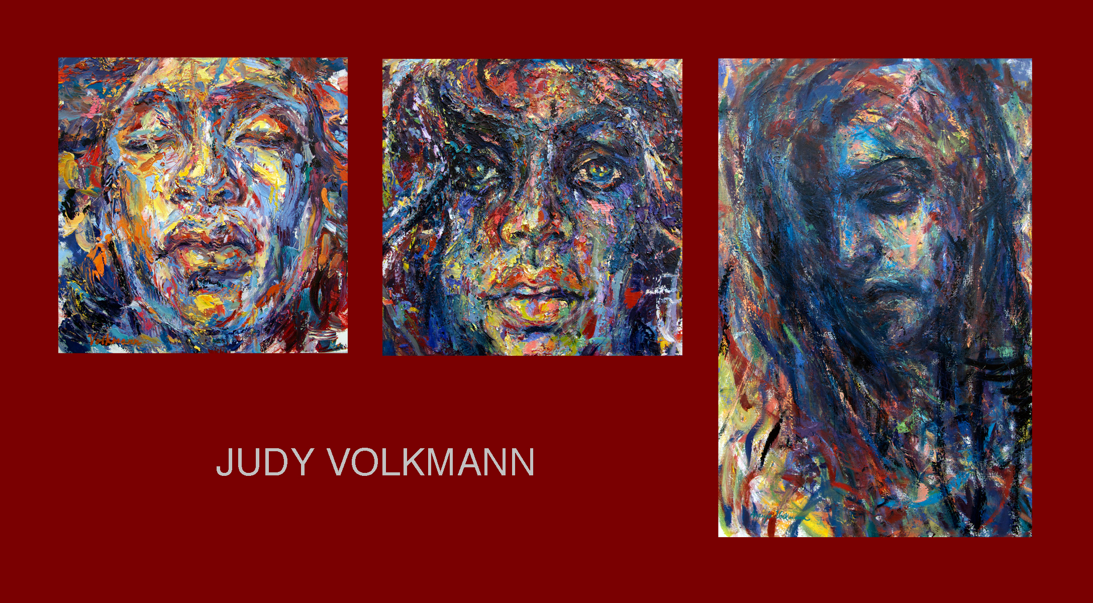Original Oil Paintings by Judy Volkmann will be on display and available at Judith Klein Art Gallery